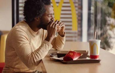 McDonalds Smoke House Burger